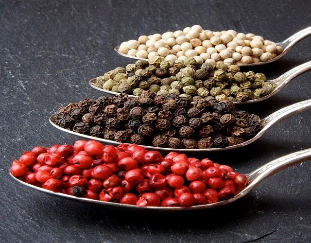 4 loại hạt tiêu Mỹ Lộc