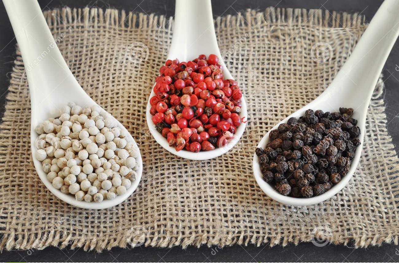 các loại hạt tiêu